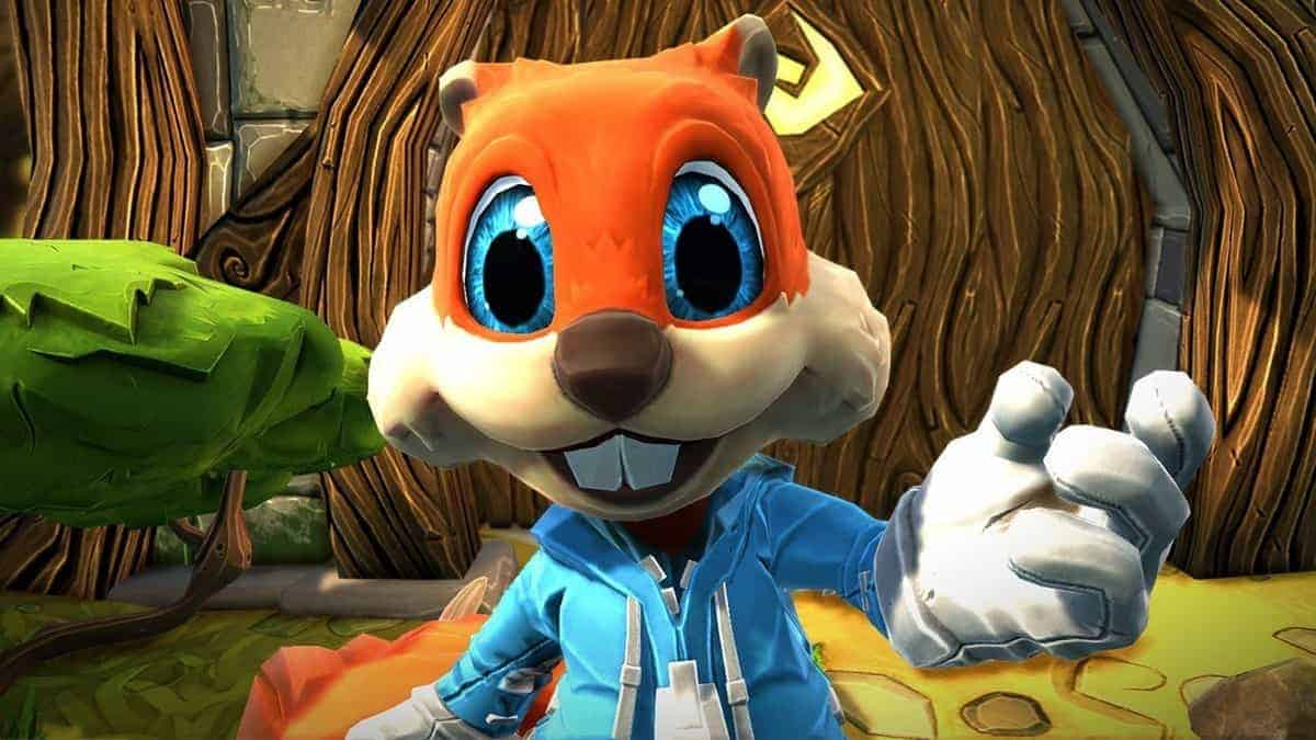 Young Conker HoloLens