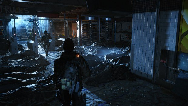 A pile of dead bodies is nothing compared to the intimidating uncertainty of the Dark Zone.