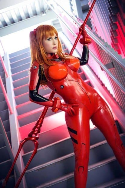 Cosplay Asuka by Crystal Graziano
