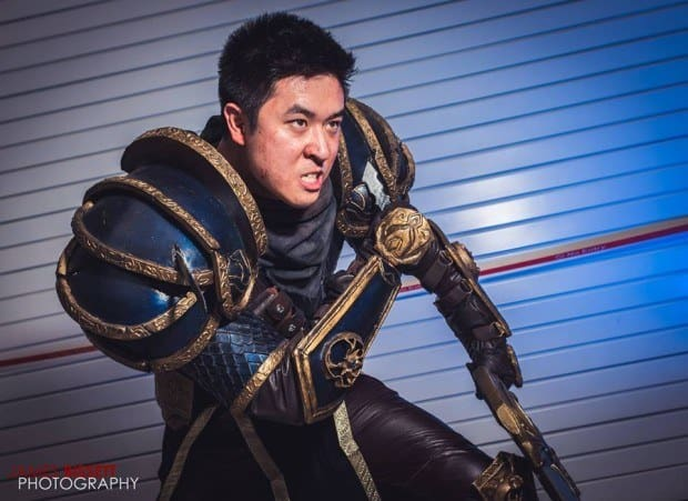 Cosplay Garen from League of Legends 3