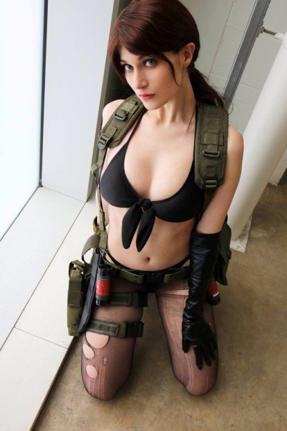 Cosplay Quiet Metal Gear Solid 5