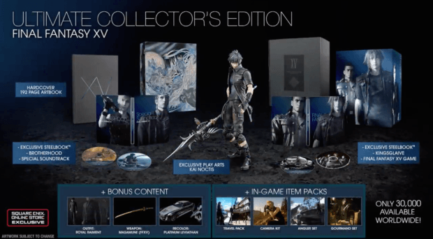 Final Fantasy XV Ultimate Collector's Edition