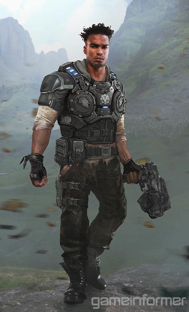 Gears of War 4 Characters Revealed and Detailed