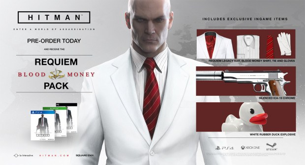 Hitman Requiem Pack DLC items