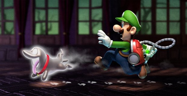 Nintendo NX Games Luigi's Mansion 3