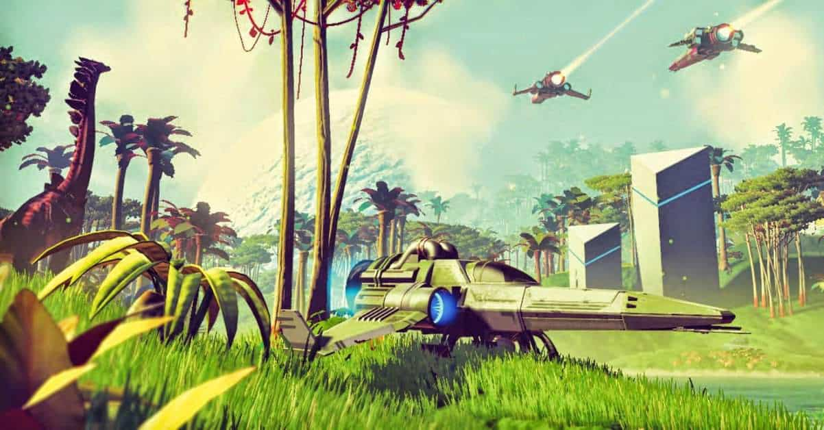 No Man's Sky Shares Events Between Players