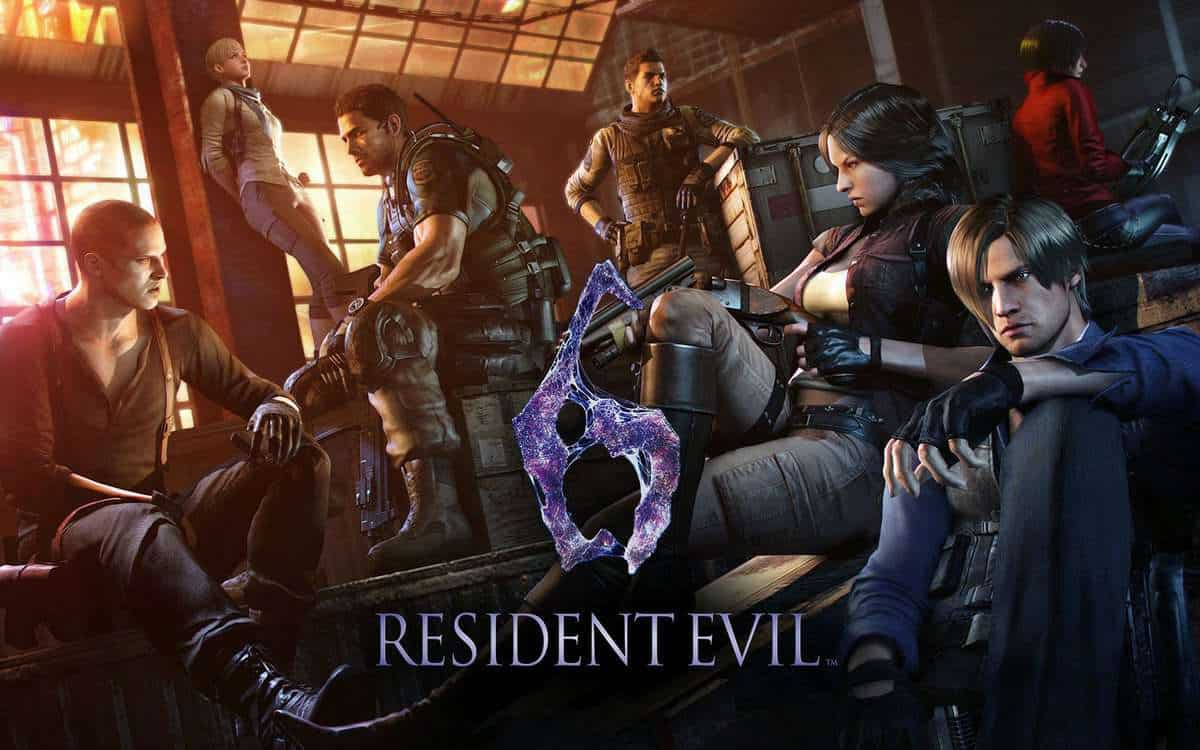 Resident Evil 6 on PS4 and Xbox One
