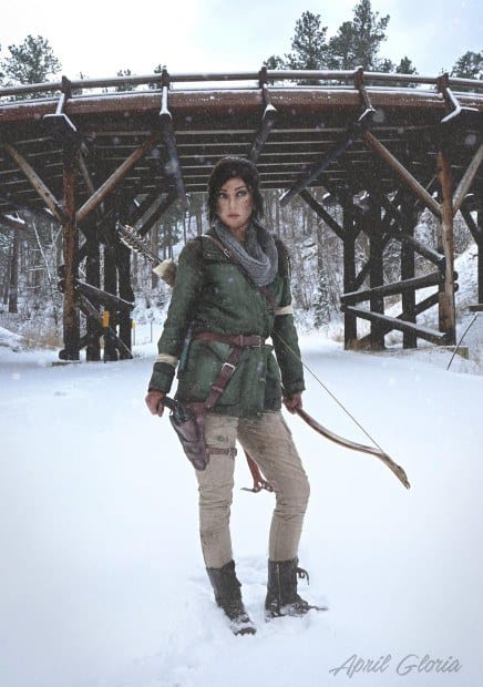 Rise fo the Tomb Raider Cosplay 3