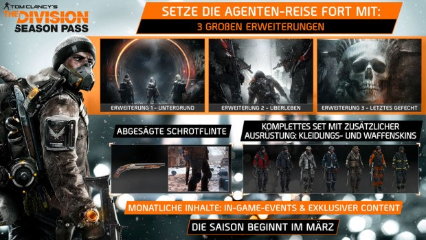 The Division Season Pass Promotional Image