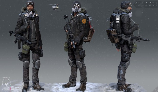 The Division Underground Level Cap