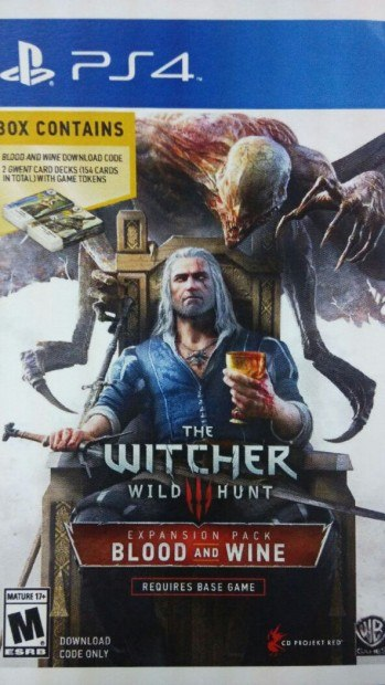 The Witcher 3 Blood and Wine boxart