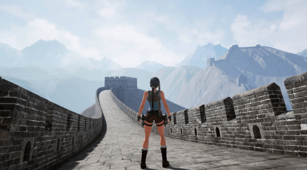 Tomb Raider 2 unreal engine 4 remake (4
