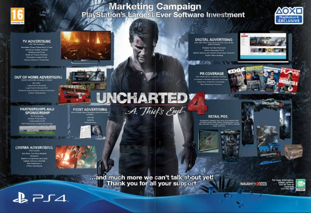 Uncharted 4 Marketing Campaign