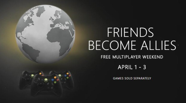 Xbox 360 free multiplayer weekend
