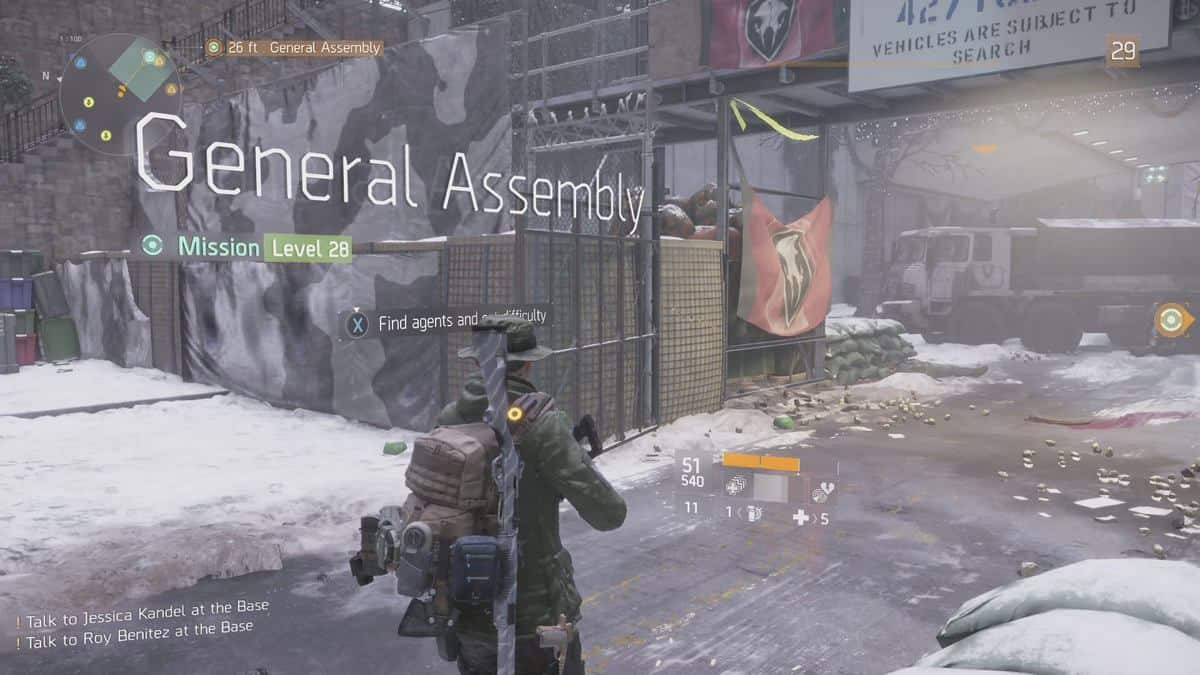New The Division Exploit in General Assembly Can Enable Quick Purple Farming