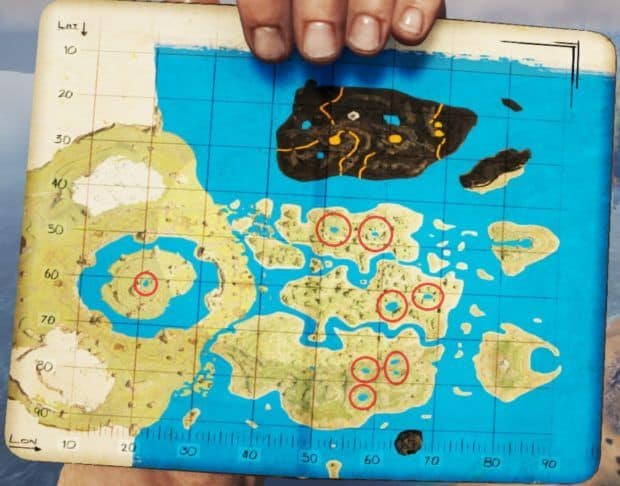 carte the center ark ARK Survival Evolved The Center Map Caves Locations, Map