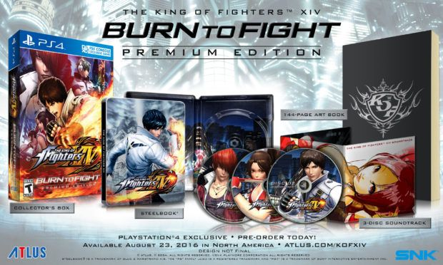 Burn To Fight King of Fighters XIV Premium Edition