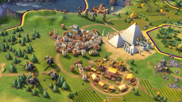 Civilization VI City Building
