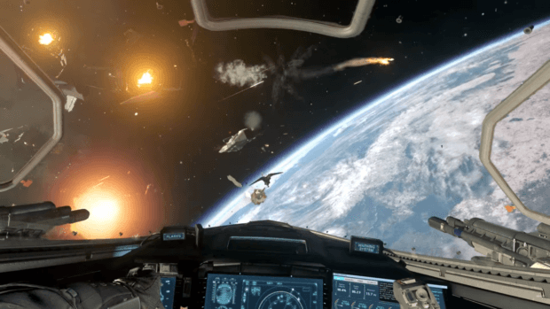 Infinite Warfare Space Dogfights