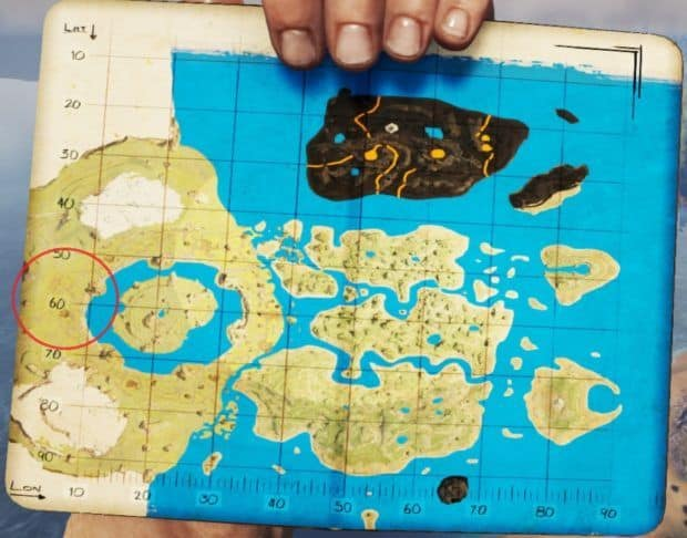 Ark Tropical Island North Water Spawns