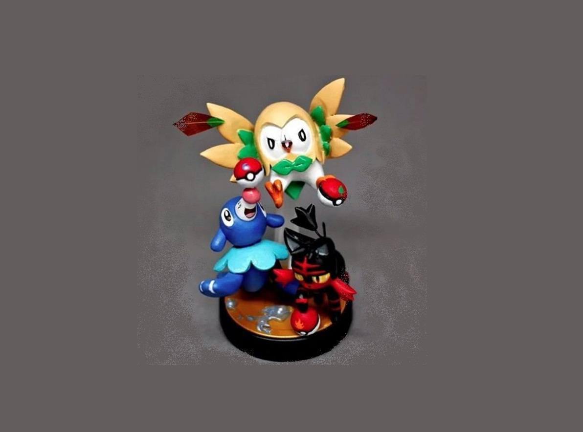 Pokemon Sun and Moon Amiibo