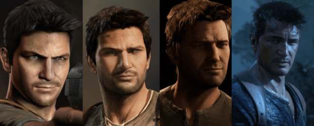 The evolution of uncharted characters
