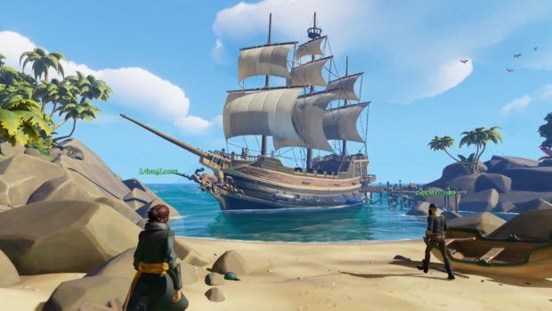 Sea of Thieves visuals, Cross-Platform Play