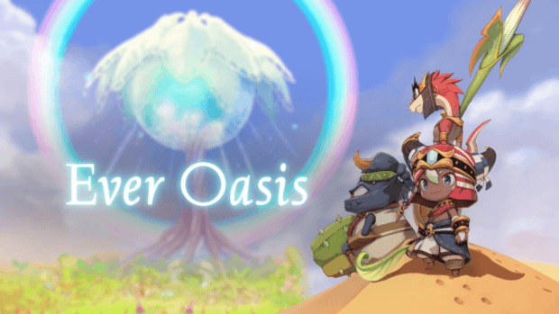 Ever Oasis RPG Nintendo 3DS
