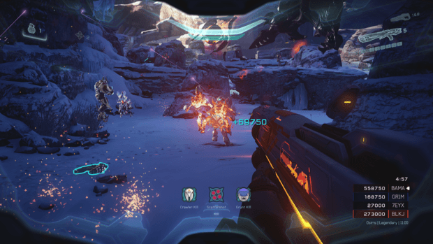 Halo 5 Score Attack Mode