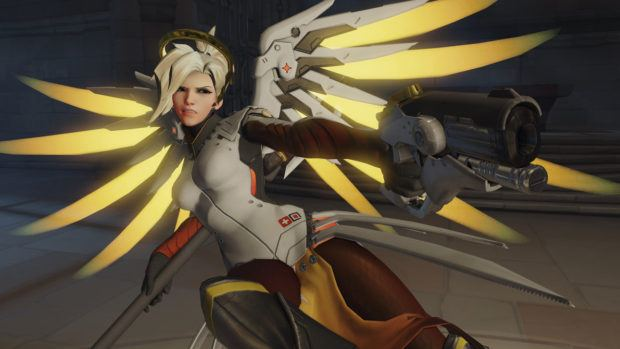 Overwatch Update Mercy Nerf Bug