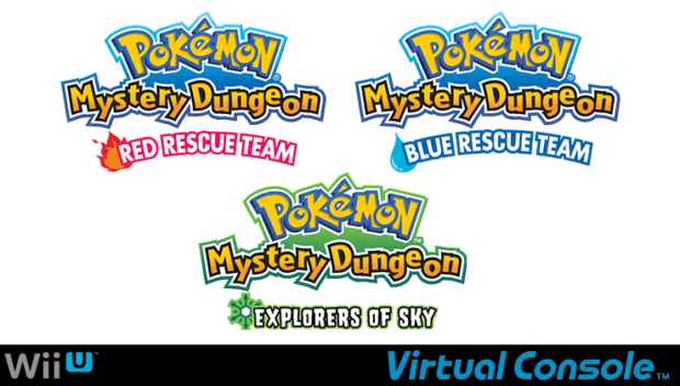 Pokemon Mystery Dungeon Games
