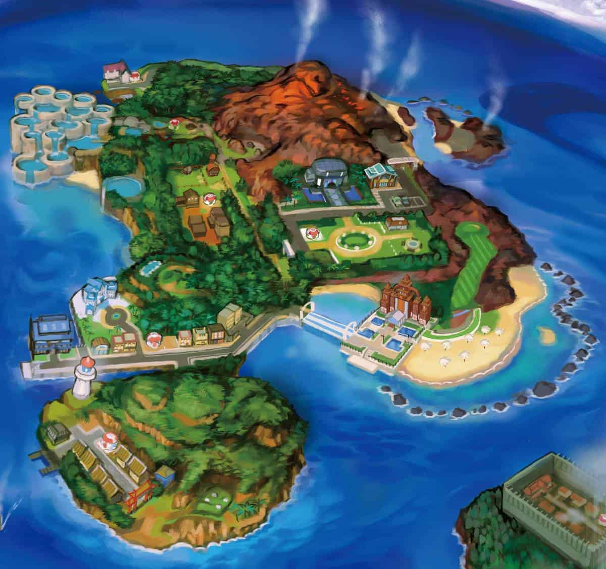 13 secrets and hidden details in pokemon sun and moon alola map
