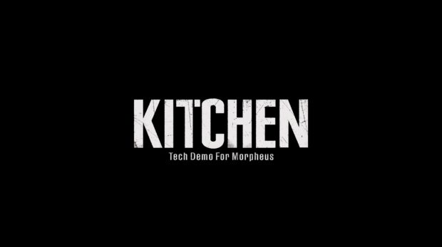 Resident Evil 7 kitchen demo