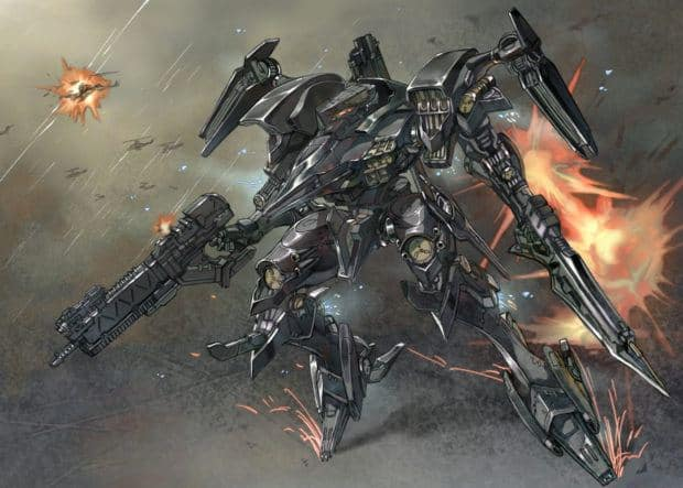 new Armored Core game From Software