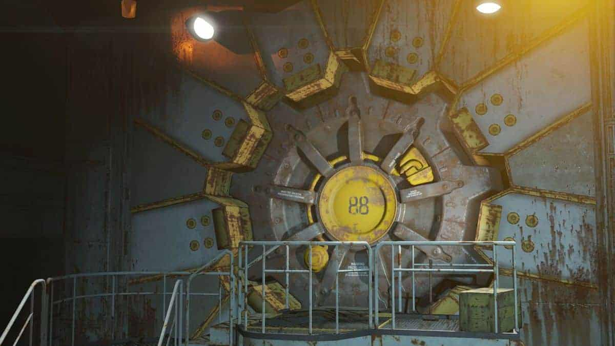 Fallout 4 Vault-Tec Vault 88 Build Areas