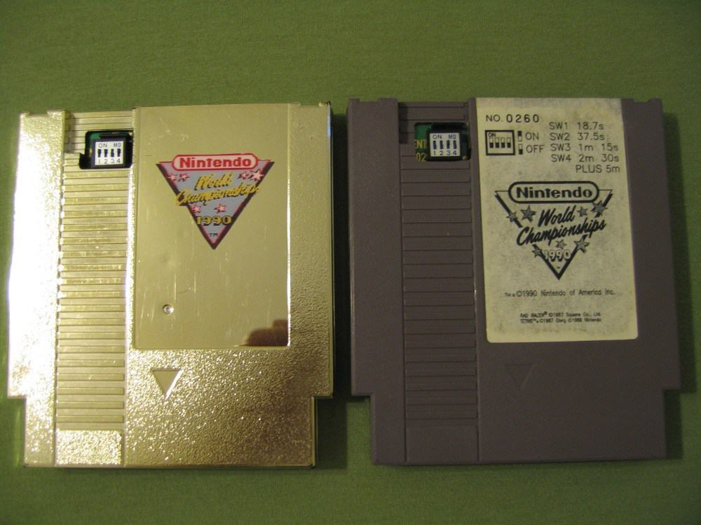 Nintendo World Championship Carts