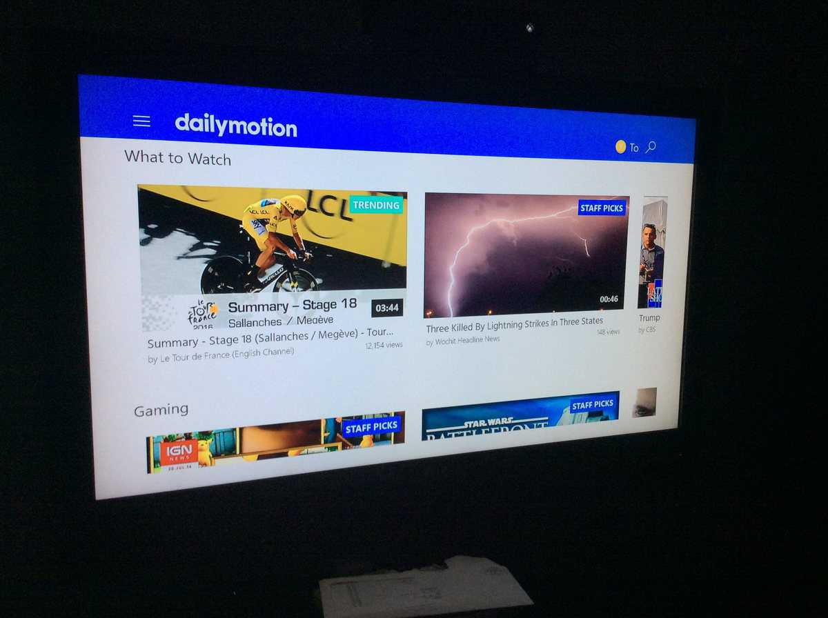 Dailymotion App Headed To Xbox One, Available On Preview Program