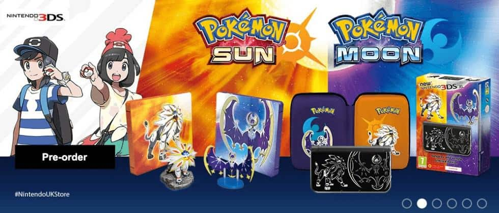 Pokemon Sun And moon limited edition 3DS XL