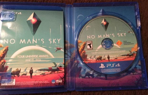 No man's Sky early copy