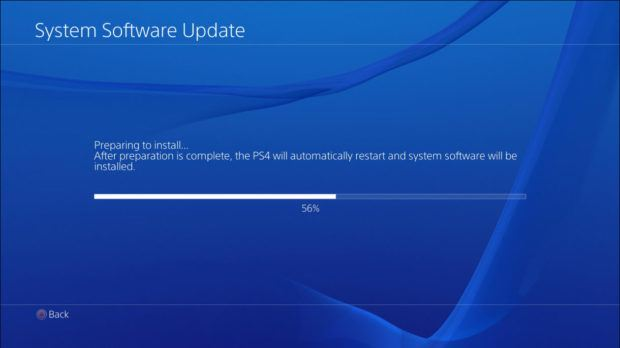 PlayStation 4 Firmware 4.0