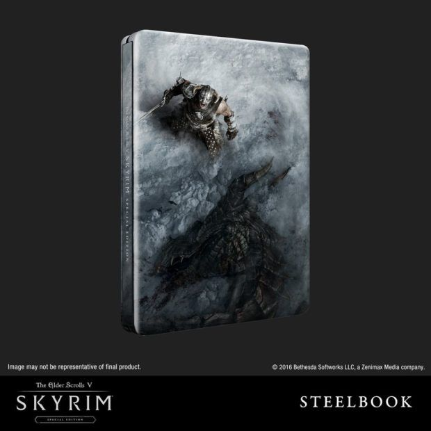 Skyrim Remastered Steelbook Edition