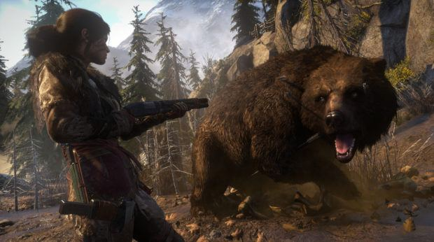 Rise Of The Tomb Raider PS4 Screenshots