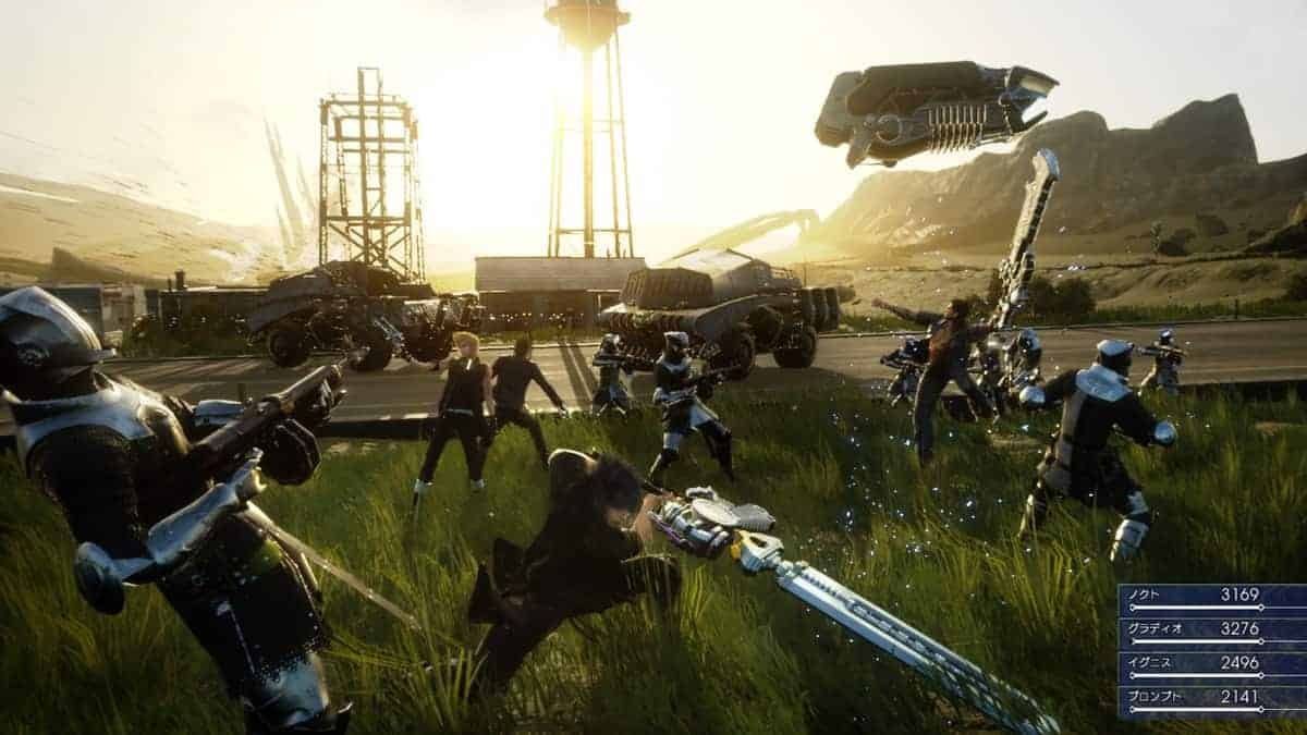 Final Fantasy XV co-op