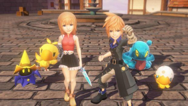 World Of Final Fantasy Demo