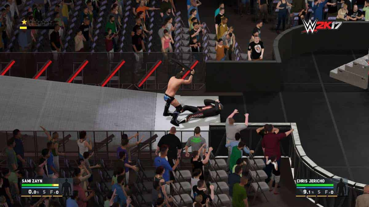 WWE 2K17 Submission Guide – How to Submit Your Opponent