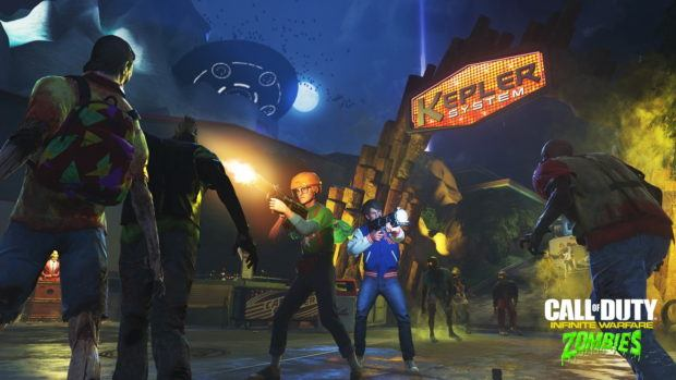 Zombies in Spaceland Easter Egg Steps