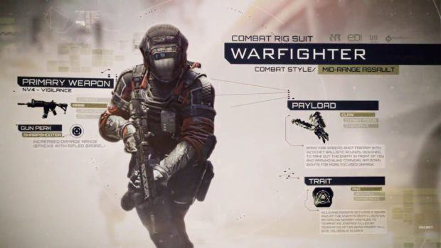 Infinite Warfare Warfighter Rig Class Guide