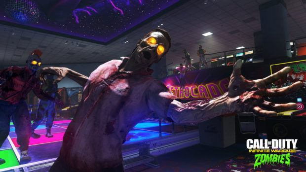 Infinite Warfare zombies in spaceland lost and found