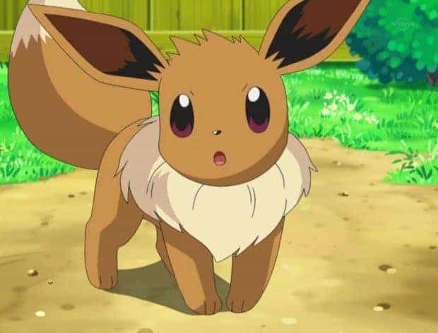Pokemon Sun and Moon Eevee