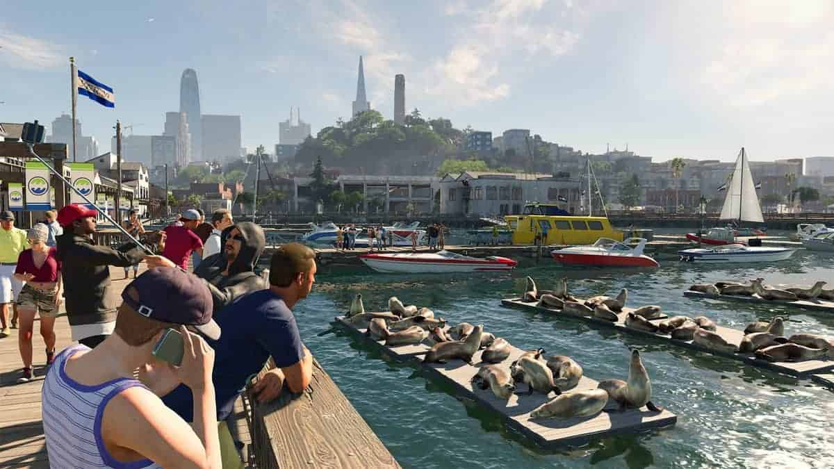 Watch Dogs 2 Sailboat Races